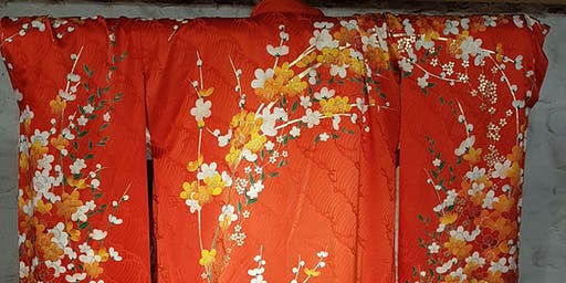 Kimono through the ages: a guided talk by Susan Selwyn