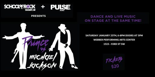 School of Rock Calgary and Pulse Studios presents Prince Vs Michael Jackson