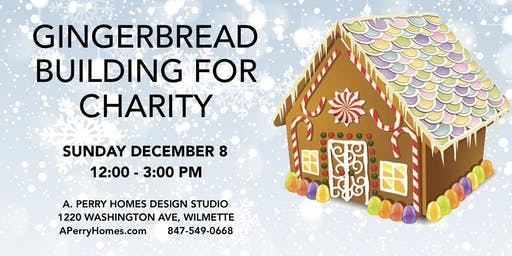 Gingerbread Home Building for Charity