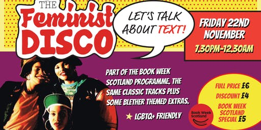 The Feminist Disco- Let's Talk About Text