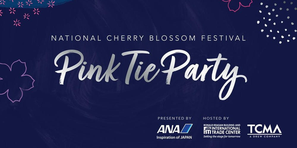 Cherry Festival 2020.2020 National Cherry Blossom Festival Pink Tie Party