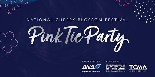 2020 National Cherry Blossom Festival Pink Tie Party