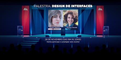 Design de Interfaces tickets