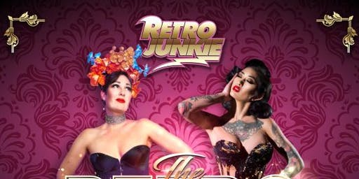 The Retro Burlesque Show featuring Frankie Fictitious, Annie Savoy, and more