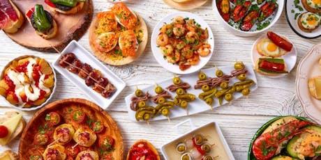 Make Spanish Tapas with Chef Adriel biglietti