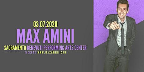 Max Amini Live in Sacramento - 2020 World Tour tickets