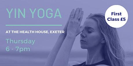 Yin Yoga Class tickets
