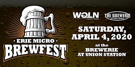 Erie Micro Brew Festival tickets