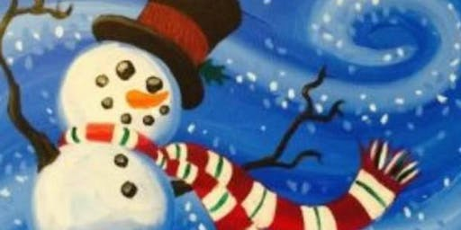 Winter Themed Paint 'N' Party Fundraiser