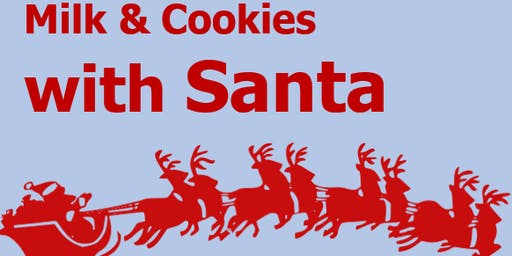 Milk & Cookies with Santa