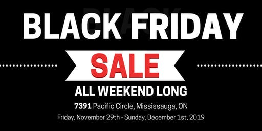 Mississauga Mart Black Friday Sales Event!