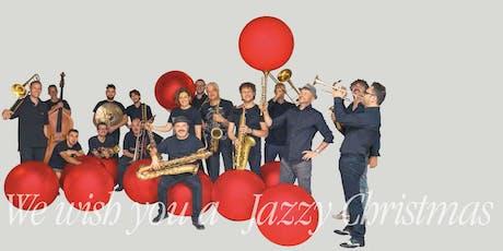 We wish you a Jazzy Christmas biglietti
