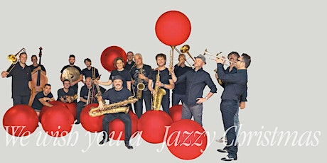 We wish you a Jazzy Christmas biglietti