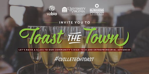 Toast the Town 2019 | Annual Holiday Party with Co-hosts: CBIC + VABIO + UVA Licensing & Ventures Group