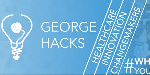 George Hacks 3rd Annual Medical Solutions Hackathon 2020