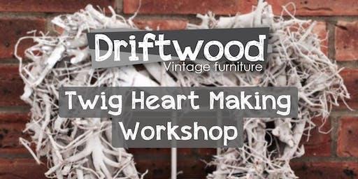 Twig Heart Making Workshops