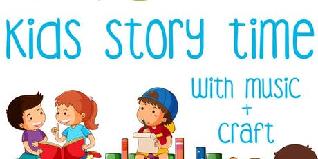 Kids Story Time with Music + Craft tickets