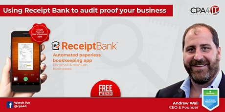 Using Receipt Bank to Audit Proof your Business tickets