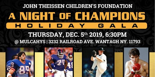 "JTCF presents ""A Night Of Champions"" Holiday Gala"