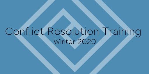 Conflict Resolution Training - Winter 2020