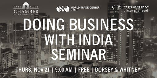 Doing Business with India Seminar