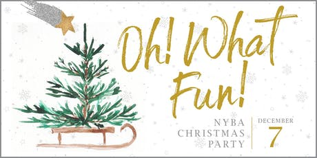 2019 NYBA Christmas Party tickets
