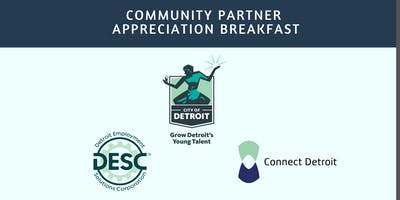 2019 GDYT Community Partner Appreciation Breakfast