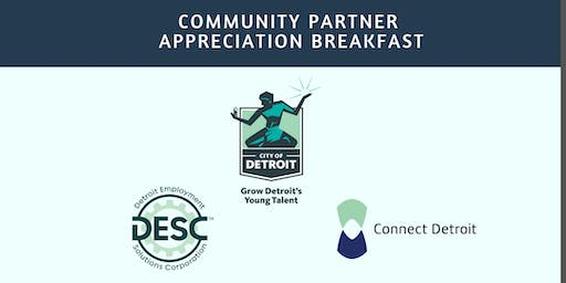 2019 GDYT Community Partner Appreciation Breakfast
