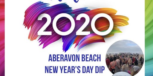 Aberavon Beach New Years Day Dip 2020
