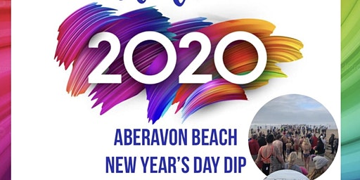 Aberavon Beach New Years Day Dip 2020