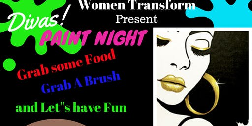 Women Transform: Divas Paint Night