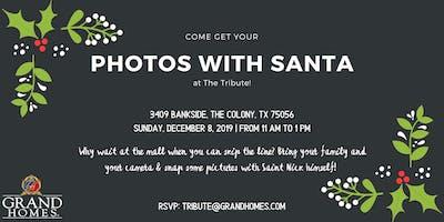 Santa at The Tribute