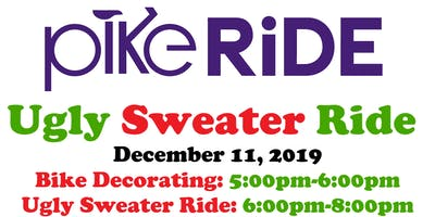 Ugly Sweater Ride & Bike Decorating with PikeRide
