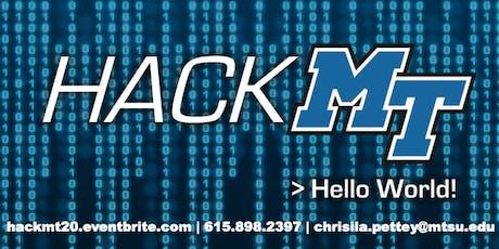 HackMT 2020 tickets