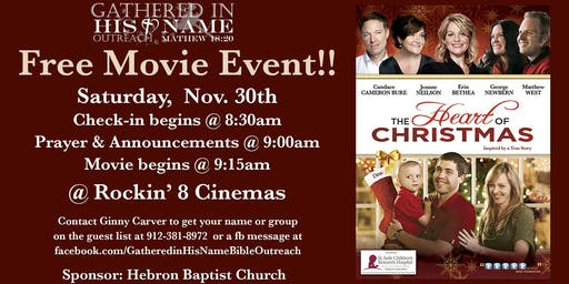 """Free Movie Event: """"The Heart of Christmas"""""""