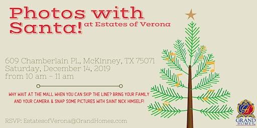 Free Photos with Santa at Verona