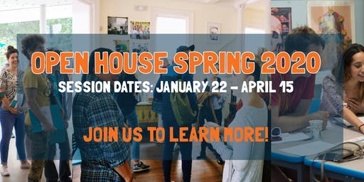 Open House! Spring Session 2020