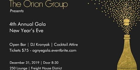 New Year's Eve Gala tickets