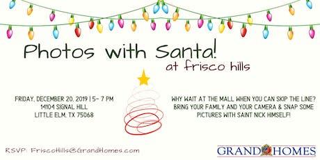 Free Photos with Santa at Frisco Hills tickets