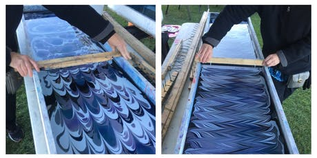 Silk Scarf and Canvas Water Marbling Workshop tickets
