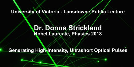 UVic-Lansdowne Public Lecture by Nobel Laureate