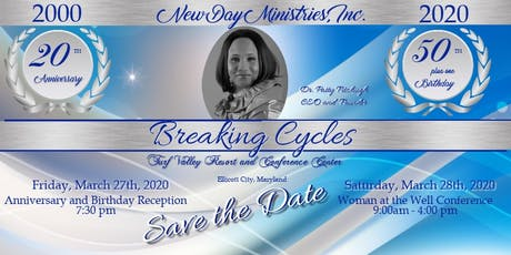Woman at the Well Conference and  NDM 20  Year Anniversary Celebration tickets