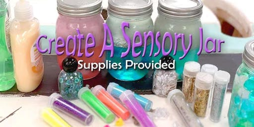 Sensory Jar Workshop 11/23/19