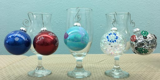 Glass Ornament Decorating