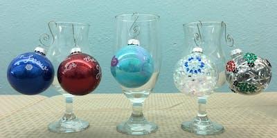 Glass Ornament Decorating