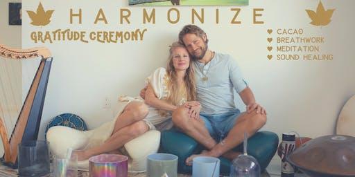 Harmonize Gratitude Ceremony