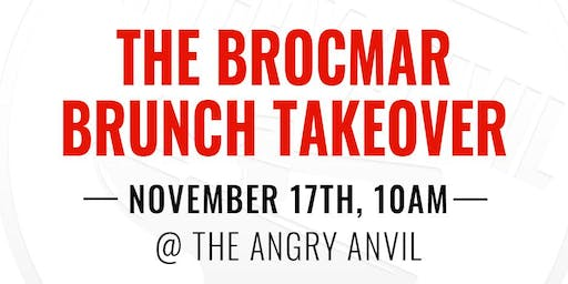 Brocmar Brunch Takeover At The Angry Anvil