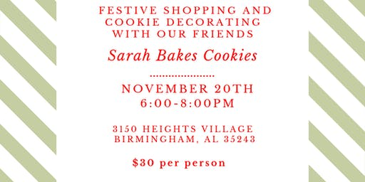 Festive Shopping + Cookie Decorating Class