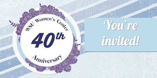 Women's Center 40th Anniversary Celebration