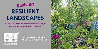 BANKLINE Reviving Resilient Landscapes Workshop